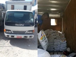 Haiti - Insecurity : Hijacking of a truck with social assistance rice