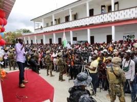 Haiti - Politic : President Moïse visits the Vallée-de-Jacmel