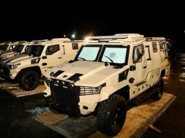 Haiti - FLASH: 15 armored vehicles land in Haiti