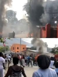 Haiti - FLASH : High tension at Champ-de-Mars