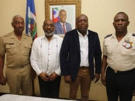 Haiti - Security : Meetings of the High Command of the FAd'H and the PNH