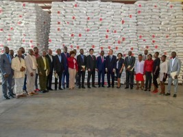iciHaiti - Japan : Official ceremony of reception of a donation of 6,396 tonnes of rice