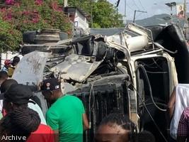 iciHaïti - Sécurité routière : 59 accidents au moins 113 victimes