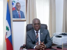 iciHaïti - Installation : Le PM Jouthe également Ministre de la Planification