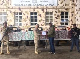iciHaïti - RD : Saisie de plus de 300,000 paquets de cigarettes de contrebande en provenance d'Haïti