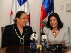 Haiti - Social : First foreign visit of the First Lady of Haiti