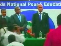 Haiti - Education : Launch of the National Fund for Education (FNE) by Martelly