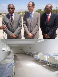 iciHaiti - Politic : Site inspection tour