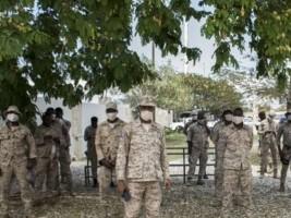 iciHaiti - PNH : Distribution of masks at CIMO HQ
