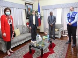 Haïti - Covid-19 : Importante réunion entre le PM et les représentants de l'ONU et de l'OMS/OPS
