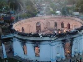 iciHaïti - Patrimoine : Incendie de la Chapelle de Milot, réaction de l'ONU et de l'UNESCO