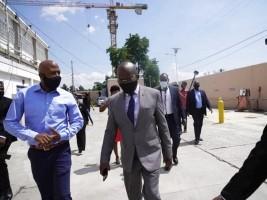 iciHaïti - Politique : Le PM Jouthe veut réoccuper très bientôt ses bureaux au Bicentenaire