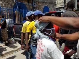 iciHaïti - Covid-19 : Près de 9,000 autres masques distribués dans la capitale