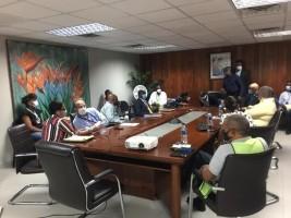 Haïti - Politique : Séance de travail autour de la réouverture des aéroports