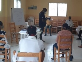 iciHaiti - IOM : Training on the management of vulnerable migrants faced Covid-19