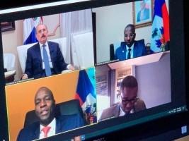 iciHaïti - Politique : Visioconférence entre Jovenel Moïse et Danilo Medina