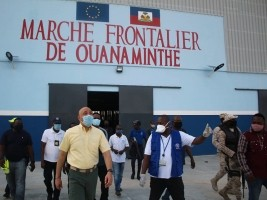 Haiti - Ouanaminthe : «Assisted voluntary return plan» for Haitians in DR