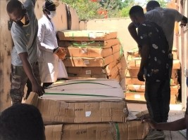 iciHaiti - Covid-19: Delivery of medical materials and equipment to St -Luc hospital