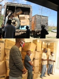 iciHaiti - North-West : Delivery of medical materials and equipments