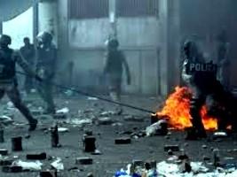 iciHaïti - Politique : Manifestation «de policiers» et de membres de l'opposition, plusieurs victimes
