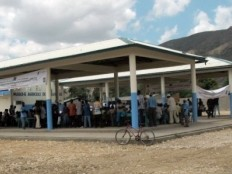 Haiti - Reconstruction : New agricultural market in the town of Saint Raphaël