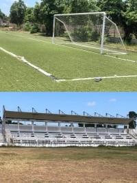 iciHaïti - Politique : Poursuite de la tournée des infrastructures sportives