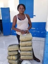 iciHaïti - Aquin : 45 kilogrammes de marijuana saisis