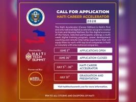 iciHaïti - Inscriptions : Programme d'accélération de carrière numérique, une première en Haïti