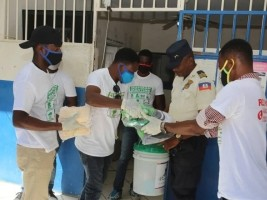 iciHaiti - Covid-19 : 70,000 masks distributed in more than 11 public markets