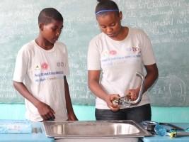 iciHaïti - Grand'Anse : 300 jeunes formés en couture, plomberie et en techniques de production animale et végétale