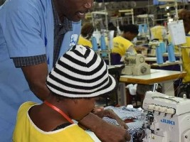 iciHaiti - Cité Soleil : 320 young operators certified on industrial sewing machines