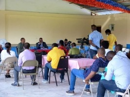 iciHaiti - Sports : The Minister deplores the state of sports infrastructure