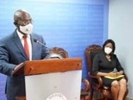 iciHaïti - Politique : Installation de la Ministre déléguée Colombe Emilie Jessy Ménos