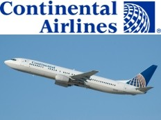 Continental airlines flying high with its