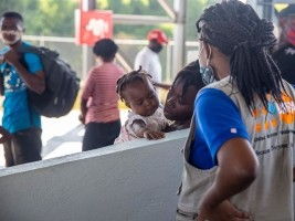 Haiti - Covid-19 : UNFPA monitors Haitians returning from DR