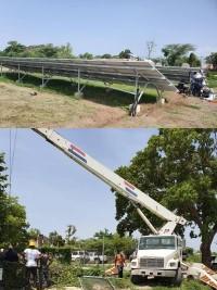 iciHaïti - Social: Des pompes hydraulique solaires partout au pays
