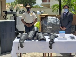 Haiti - Security: United States support to the PNH