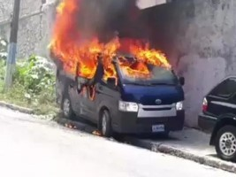 Haiti - Justice: Violence by the opposition around the hearing at the ULCC of former Senator Latortue