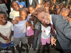 Haiti - Social : The President Martelly is committed to enforce the rights of all children