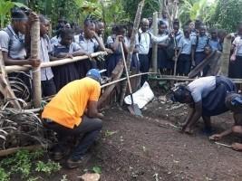 iciHaïti - Environnement : Formation sur les techniques de mise en place des Jardins scolaires