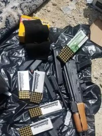 iciHaïti - Saint-Marc : Saisie d'armes et de munitions