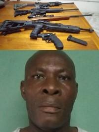 iciHaiti - Operation «Terminator 1» : Arrest and seizure of weapons of war in Tabarre