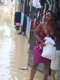 iciHaiti - Social : Important distribution of food kits to Laura's victims