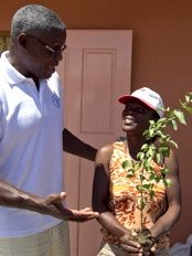 Haiti - Environment : «Trees are at the epicenter of Haiti's renaissance» dixit Carl Lewis
