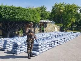 iciHaïti - Barahona : Saisi de 21 tonnes d'ails de contrebande