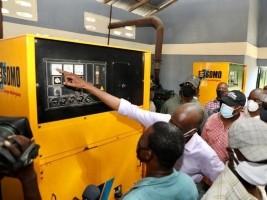iciHaïti - Diaspora : Inauguration des travaux de réhabilitation de la centrale électrique de Vieux-Bourg d'Aquin