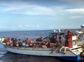 Haïti - FLASH : 94 migrants haïtiens secourus en mer au large de la Colombie