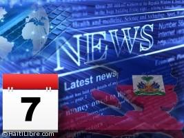 Haïti - Actualité : Zapping...