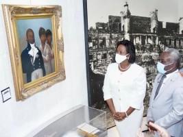 iciHaïti - Patrimoine : Dévoilement du tableau historique «Les Enfants du Roi Henri Christophe»
