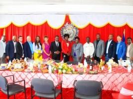 iciHaïti - Cap-Haïtien : Visite d'une importante délégation de la New-Orleans